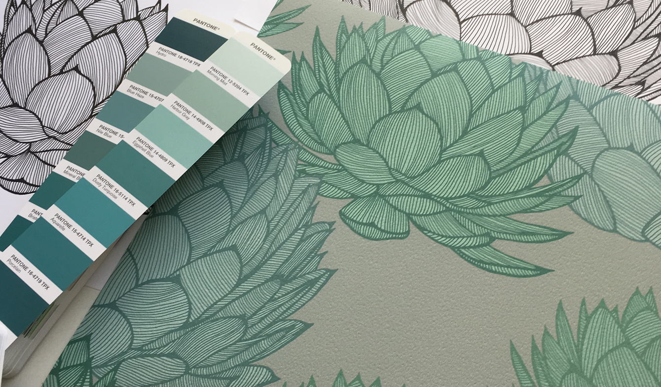 Patricia Braune - Parry's Agave Wallpaper - Wynil