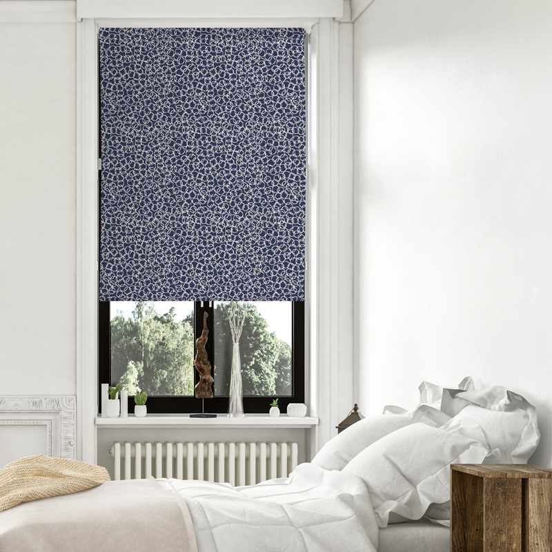 Magnolia Story Pollen - Navy - Blinds in Print - Patricia Braune designs