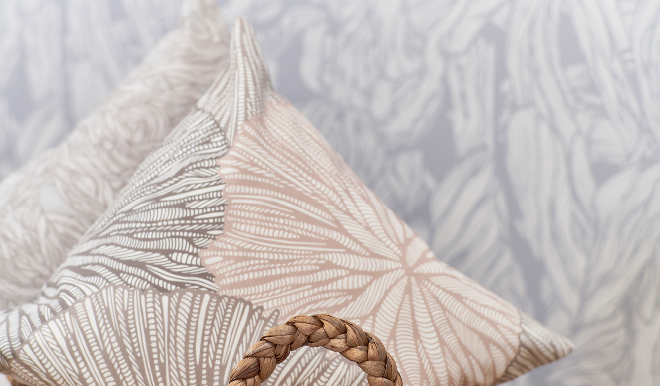 Coral Medal Weave by Patricia Braune