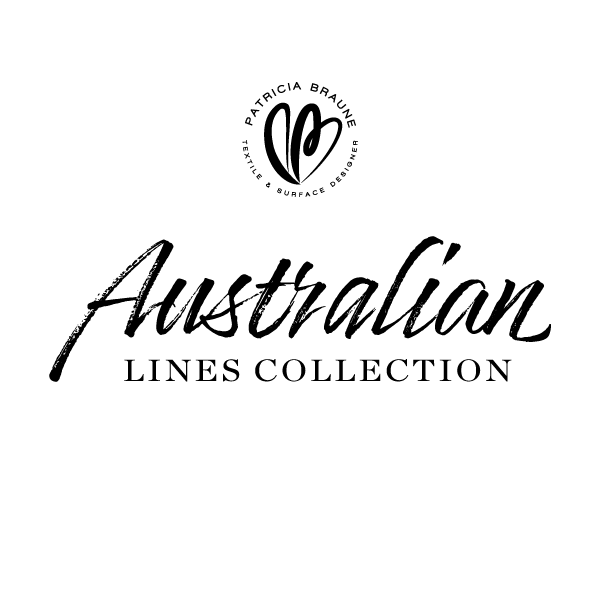 Australian Lines Collection by Patricia Braune