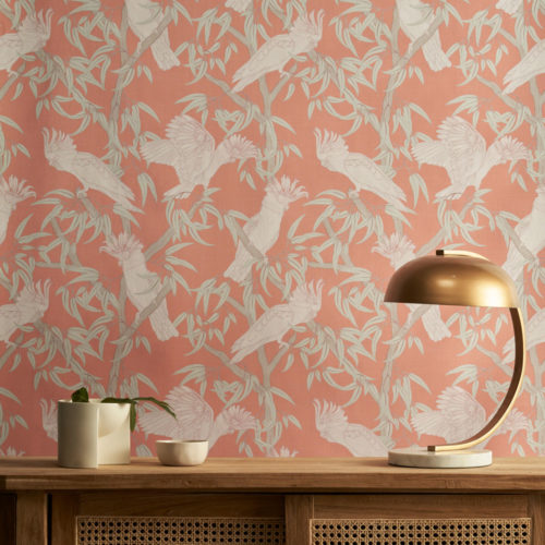 In the Trees Wallpaper from the Australian Lines Collection by Patricia Braune