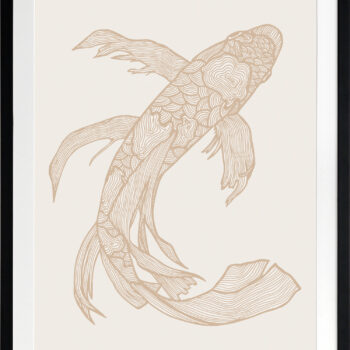 Lucky Fish Kei Light - BLACK FRAME