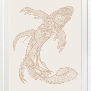 Lucky Fish Kei Light - WHITE FRAME