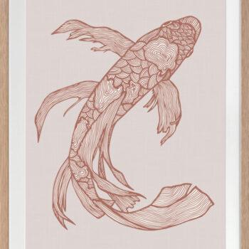 Lucky Fish Kei Rust - OAK FRAME
